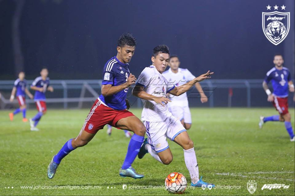 Sabah tewas 2-1 di Pasir Gudang