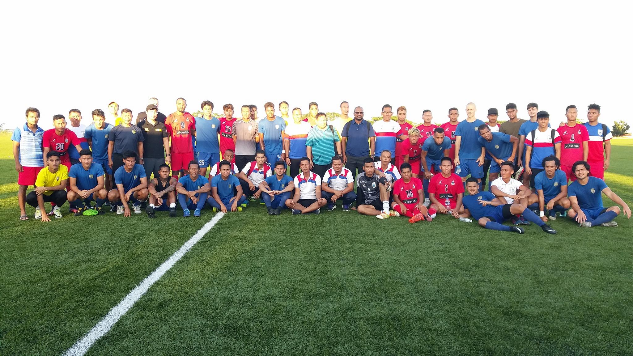 Analisis Perlawanan Persahabatan Antarabangsa: Global Cebu FC mln Sabah. 23 Jan 2018