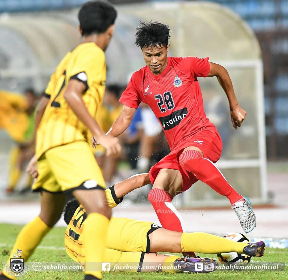 Skuad Liga Premier Sabah Mudah Jinakkan Brunei B21