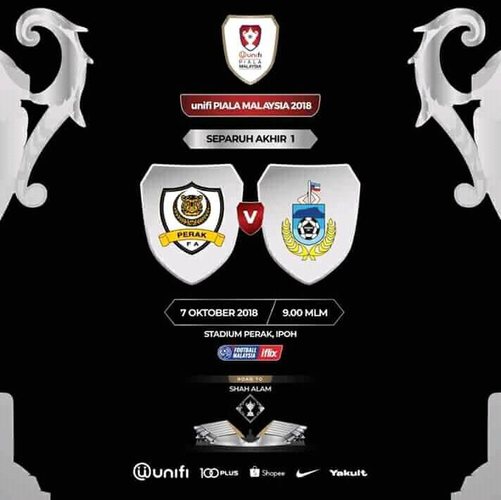 Separuh Akhir 1 Piala Malaysia 2018: Ketahui 4 taktikal utama yang boleh membantu Sabah untuk kejutkan Perak esok.
