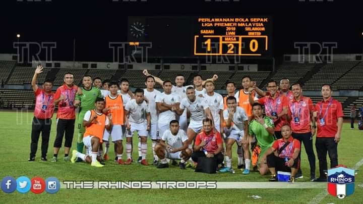 Sabah tumpaskan Selangor United FC 1-0, kembali duduki tempat ke-2 Liga Premier 2019