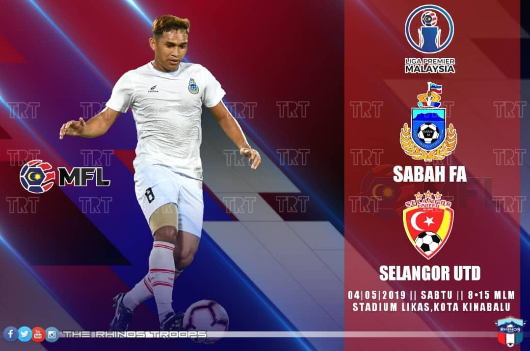 Sabah hadapi Selangor United FC di Likas esok, misi ke Liga Super 2020 diteruskan