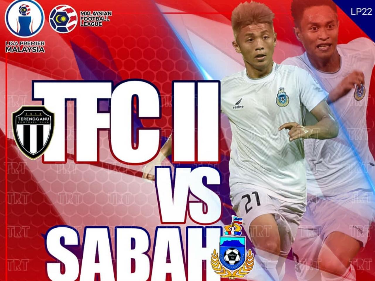Sabah lengkapkan jadual LP2019 bertemu Terengganu FC II esok ini di Kuala Terengganu