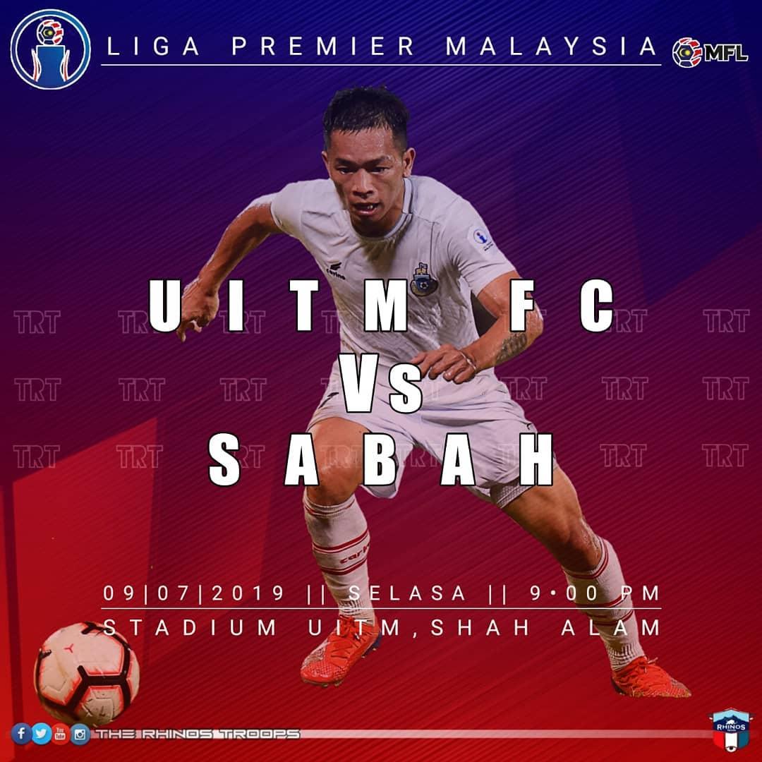 Sabah akan juarai Liga Premier 2019 jika menang ke atas UiTM FC di Shah Alam esok