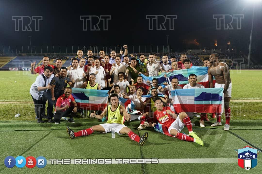 Sabah sah bergelar juara Liga Premier 2019 selepas tewaskan UiTM FC 2-1