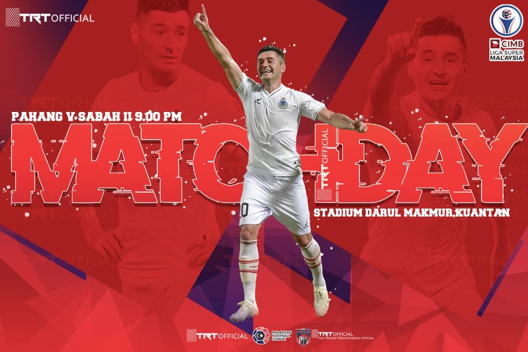Sabah buru kemenangan ke-2 di Stadium Darul Makmur malam esok
