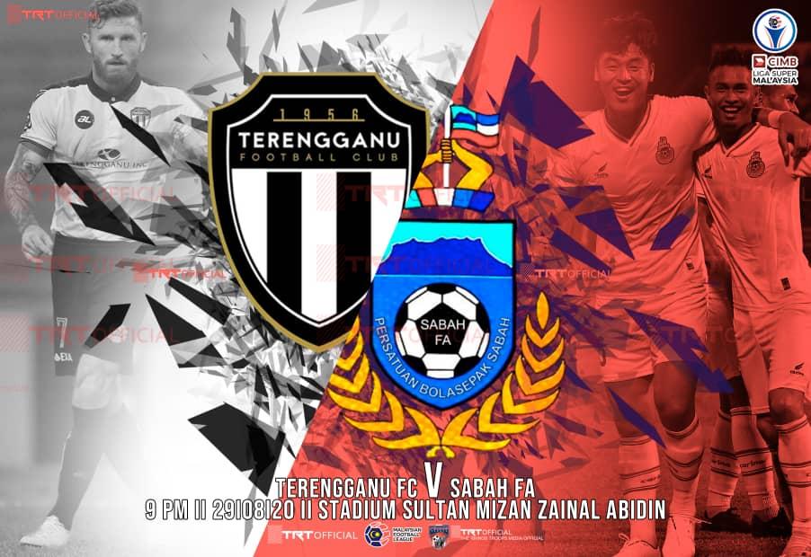 Sabah bertemu Terengganu FC malam ini!