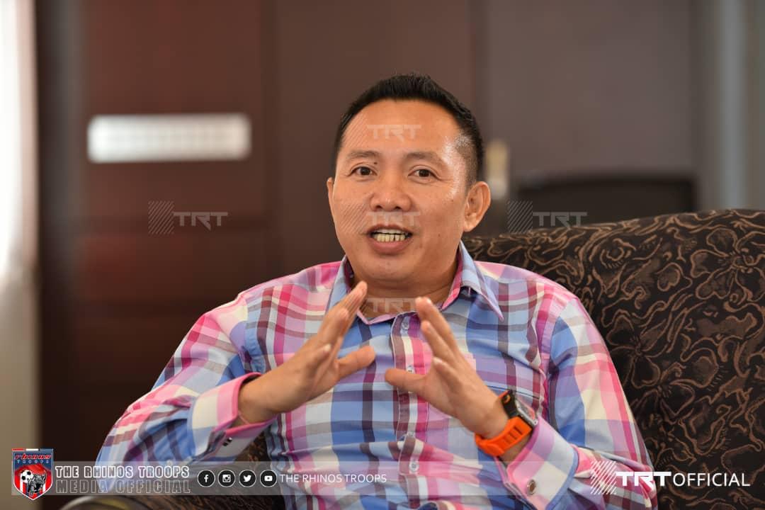 CEO Umum Ketua Jurulatih Sabah FC, mari kenali Lucas Kalang Laeng