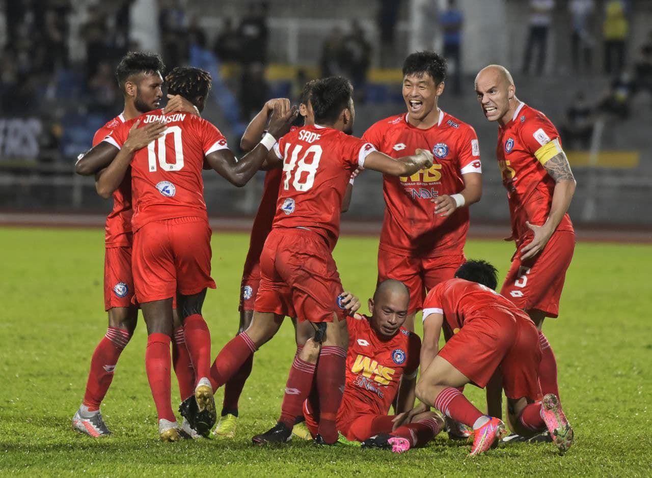 Sabah FC tamatkan rentetan 3 kemenangan berturut-turut Penang FC di Stadium Bandaraya